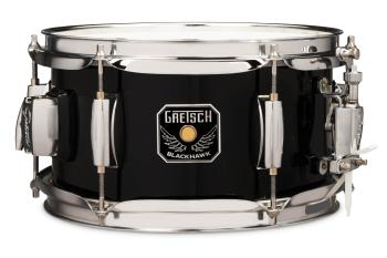 Gretsch Blackhawk Mighty Mini Snare 5.5x10 with Mount (Black) (HL-00777723)