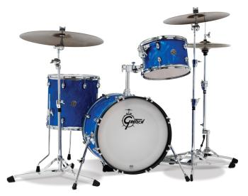 Gretsch Catalina Club 3 Piece Kit (18/12/14) (Blue Swirl) (HL-00777725)