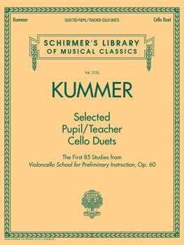 Selected Pupil/Teacher Cello Duets: Schirmer's Library of Musical Clas (HL-50601039)