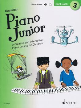 Piano Junior: Duet Book 3 (Book/Online Audio) (HL-49045687)