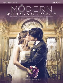 Modern Wedding Songs - 2nd Edition (HL-00254368)