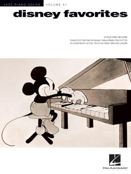 Disney Favorites: Jazz Piano Solos Series Volume 51 (HL-00233315)
