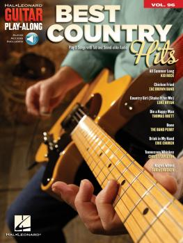 Best Country Hits: Guitar Play-Along Volume 96 (HL-00211615)