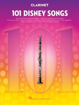 101 Disney Songs (for Clarinet) (HL-00244106)