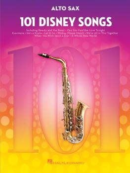 101 Disney Songs (for Alto Sax) (HL-00244107)