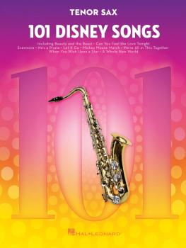 101 Disney Songs (for Tenor Sax) (HL-00244108)