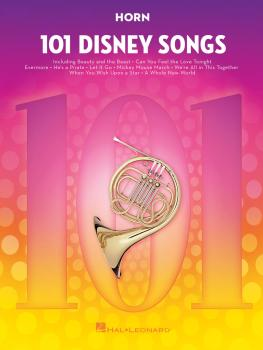 101 Disney Songs (for Horn) (HL-00244112)
