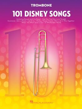 101 Disney Songs (for Trombone) (HL-00244120)