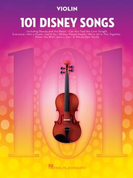 101 Disney Songs (for Violin) (HL-00244121)
