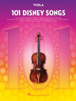 101 Disney Songs (for Viola) (HL-00244125)
