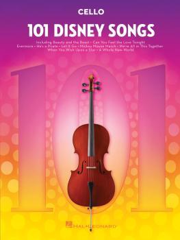 101 Disney Songs (for Cello) (HL-00244126)