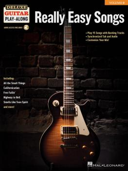 Really Easy Songs: Deluxe Guitar Play-Along Volume 2 (HL-00244877)