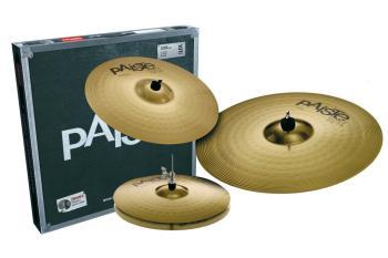 101 Brass Universal Set: 14 inch. Hi-Hat, 16 inch. Crash, 20 inch. Rid (HL-03710052)