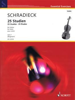 25 Studies (Violin) (HL-49045772)