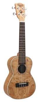 24 inch. Concert Tamo Ukulele: Model KA-24TA Includes Nato Neck, White (HL-00254546)