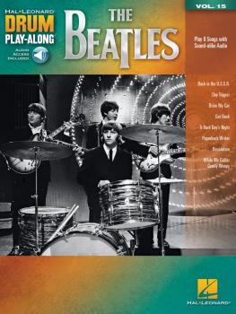 The Beatles: Drum Play-Along Volume 15 (HL-00256656)