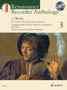 Renaissance Recorder Anthology 3: 31 Works for Treble Alto Recorder an (HL-49045795)