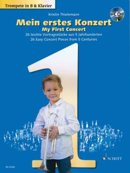 My First Concert - for Trumpet and Piano: 26 Easy COncert Pieces from  (HL-49045818)