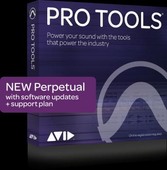 Pro Tools - Perpetual License Subscription with Updates and Support: A (HL-00267661)