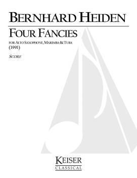 4 Fancies (for Alto Saxophone, Marimba and Tuba) (HL-00040517)
