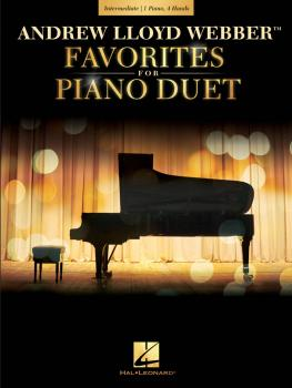 Andrew Lloyd Webber Favorites for Piano Duet: Early Intermediate Level (HL-00238453)