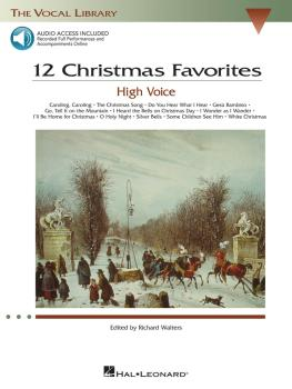 12 Christmas Favorites: The Vocal Library High Voice (HL-00000384)