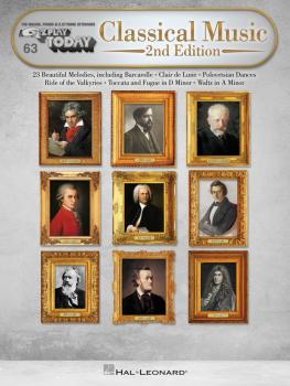 Classical Music - 2nd Edition: E-Z Play Today Volume 63 (HL-00278397)