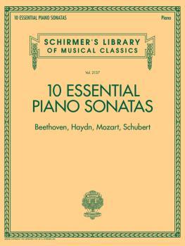 10 Essential Piano Sonatas - Beethoven, Haydn, Mozart, Schubert: Schir (HL-50601318)