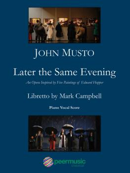 Later the Same Evening (Vocal Score) (HL-00229247)