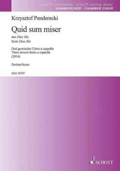 'Quid sum miser' from Dies illa (for 3 Mixed Choirs a cappella) (HL-49044870)