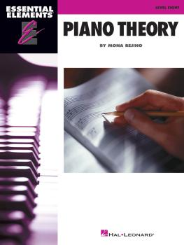 Essential Elements Piano Theory - Level 8 (HL-00155845)
