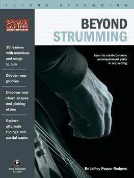 Beyond Strumming: Acoustic Guitar Private Lessons Series (HL-00277135)