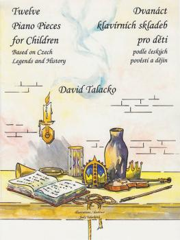 Twelve Piano Pieces for Children: Based on Czech Legends and History (HL-08773838)