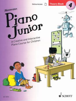 Piano Junior: Theory Book 4 (Book/Online Audio) (HL-49045917)