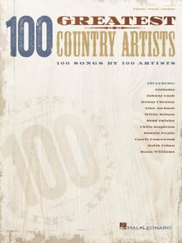 100 Greatest Country Artists: 100 Songs by 100 Artists (HL-00250372)