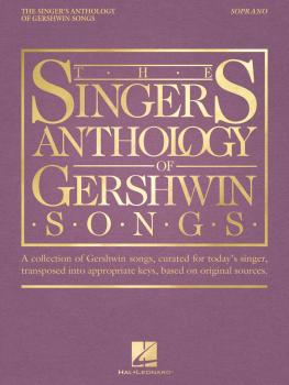 The Singer's Anthology of Gershwin Songs - Soprano (HL-00265877)