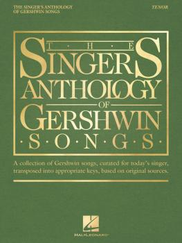 The Singer's Anthology of Gershwin Songs - Tenor (HL-00265879)