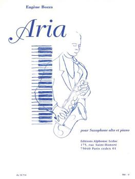 Aria (for Alto Saxophone and Piano) (HL-48180909)