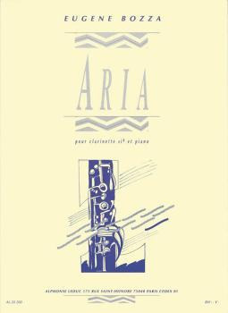 Aria (for Clarinet and Piano) (HL-48181073)