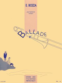 Ballade (for Trombone and Piano) (HL-48181142)
