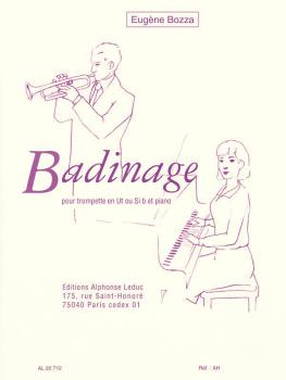 Badinage (for Trumpet and Piano) (HL-48181304)