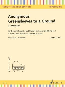 Greensleeves to a Ground: 14 Divisions Descant Recorder and Piano (HL-49045903)