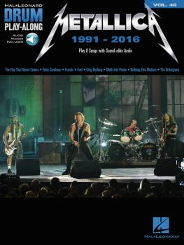Metallica: 1991-2016: Drum Play-Along Volume 48 (HL-00234341)