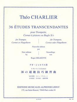 36 Etudes Transcendantes (for Trumpet) (HL-48181183)