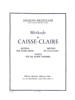Methode De Caisse-Claire: [Method for the Snare Drum] (HL-48182601)