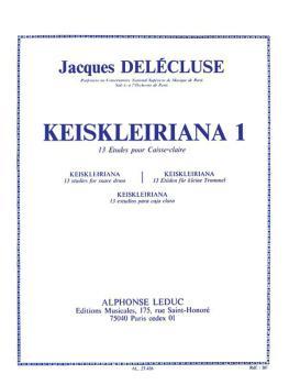 Kreisleriana 1 - 13 Etudes Pour Caisse-Claire: [Kreisleriana - 13 Stud (HL-48184433)