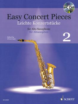 Easy Concert Pieces Book 2: 23 Pieces from 6 Centuries Alto Saxophone  (HL-49045907)