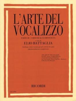 L'arte Del Vocalizzo Part Iii (mezzo-bari) Critical-technical Antholog (HL-50601356)