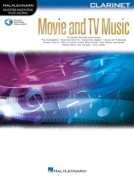 Movie and TV Music: Instrumental Play-Along® Series (HL-00261808)