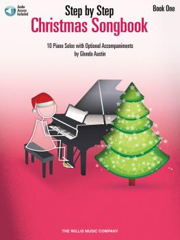 Step by Step Christmas Songbook - Book 1: Early Elementary Level (HL-00278591)